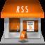Иконка RSS дом