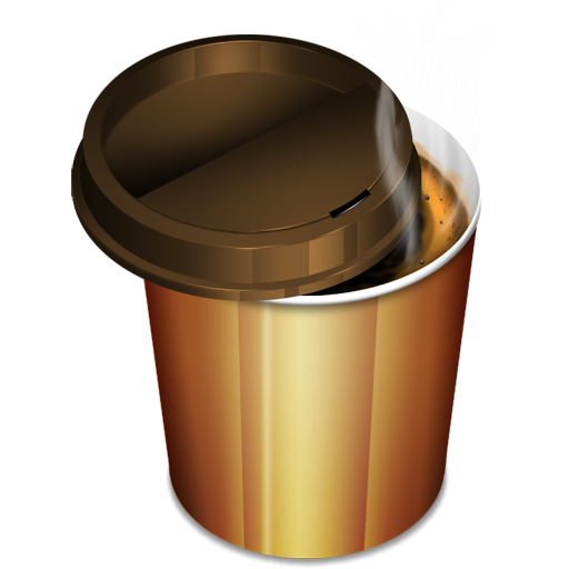 Иконка кофе - стакан, кофе