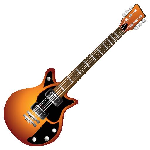 Иконка электрогитара - электрогитара, музыка, гитара