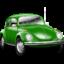 Иконка зеленый автомобиль