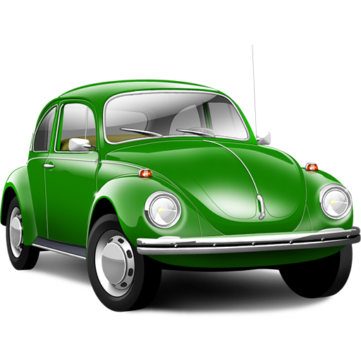 Иконка зеленый автомобиль - автомобили, авто