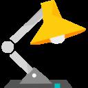 Иконка настольная лампа