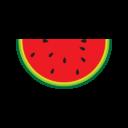 Иконка арбуз - арбуз