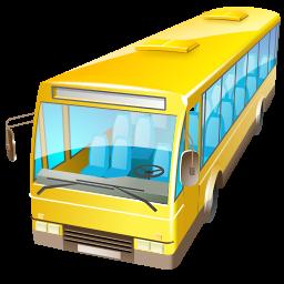 Иконка автобус - автобус