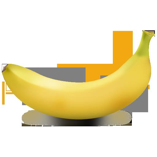 Иконка банан - фрукты, банан