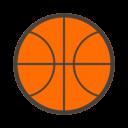 Иконка баскетбольный мяч - мяч, баскетбол