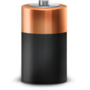 Иконка батарейка - батарейка
