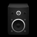 Иконка черная колонка