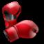 Иконка боксерские перчатки