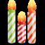Иконка свечи для торта