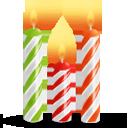 Иконка свечи для торта - свечи, день рождения