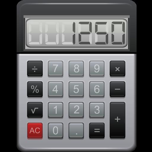 Иконка калькулятор - калькулятор