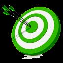 Иконка цель - цель, мишень, маркетинг