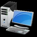 Иконка компьютер - пк, компьютер
