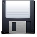 Иконка дискета - дискета