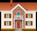 Дом на прозрачном фоне