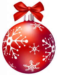 Ёлочная игрушка (красный шар) - праздники, новый год, ёлочные игрушки