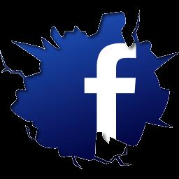 Иконка Facebook - фэйсбук, Facebook