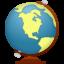 Иконка глобус