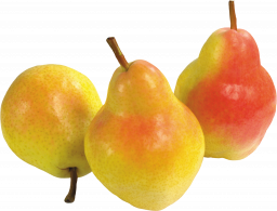 Жёлтые груши - фрукты, еда, груши
