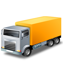 Иконка грузовик - грузовик, автомобиль, авто