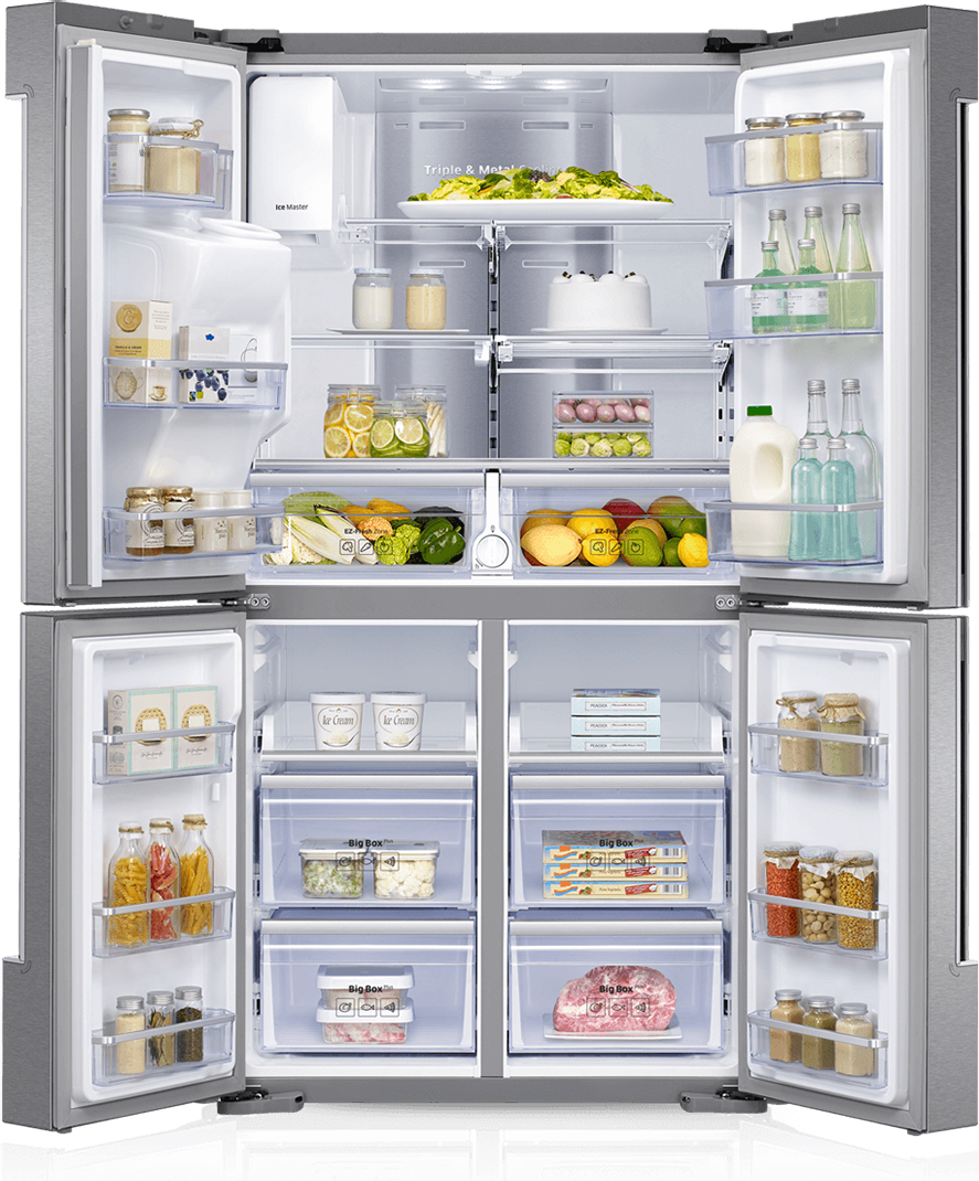 Открытый холодильник - холодильник, бытовая техника