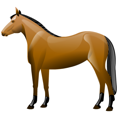Иконка лошадь - лошадь, конь