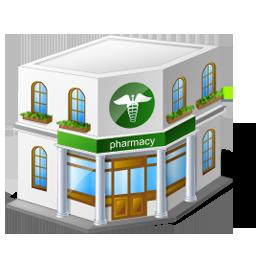 Иконка больница - медицина, больница