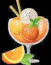 Иконка шоколадное мороженое - сладости, сладкое, мороженое