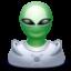 Иконка инопланетянин