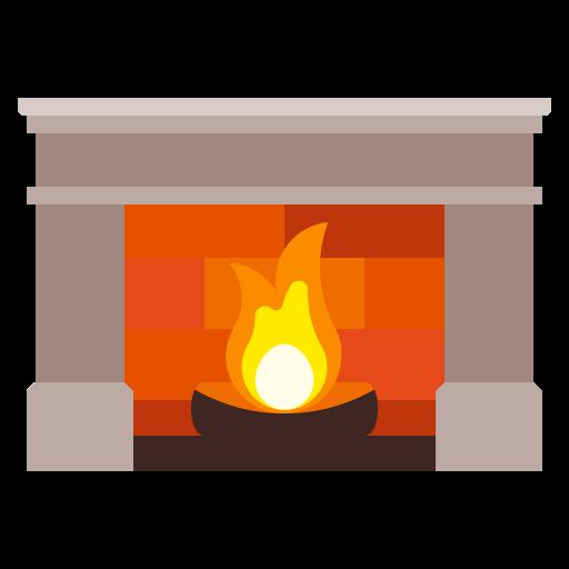 Иконка камин - огонь, камин