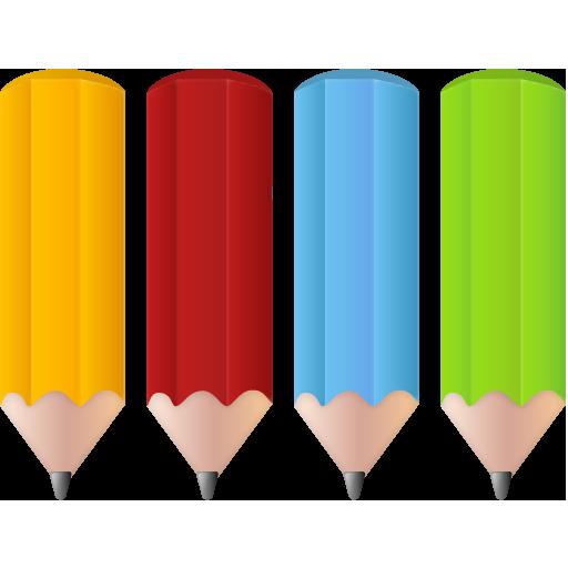 Иконка карандаши - карандаши
