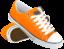 Оранжевые кеды
