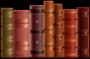 Книги на прозрачном фоне