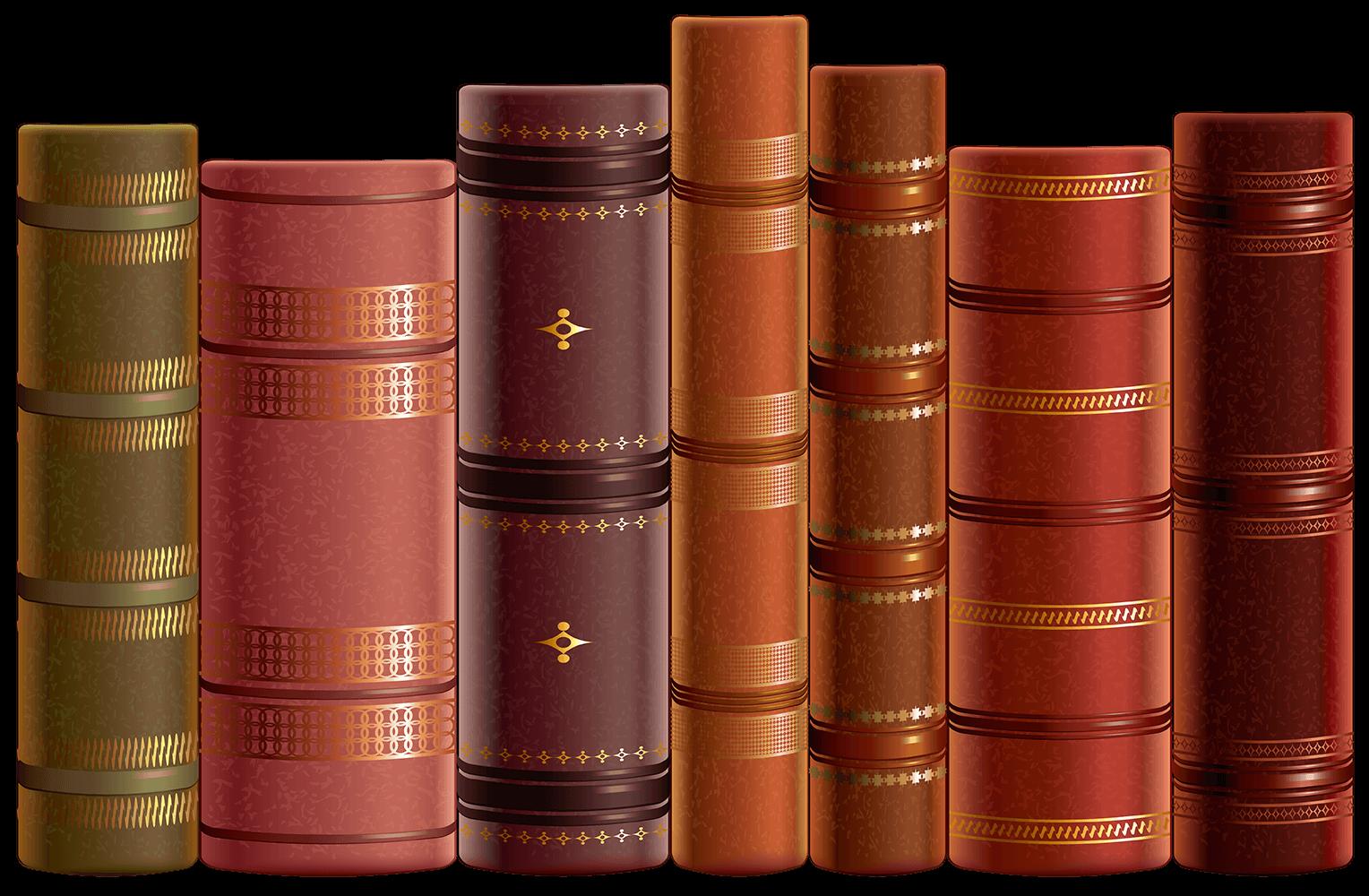 Книги на прозрачном фоне - книга