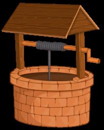 Колодец - колодец, деревня