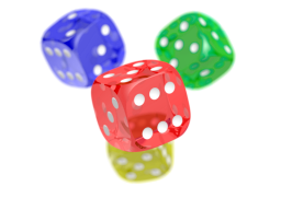 Игральные кости - кубик, кости, казино, игра