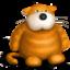 Иконка рыжий кот