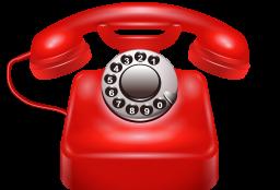 Красный телефон - телефон, связь, контакты