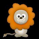 Иконка лев - лев