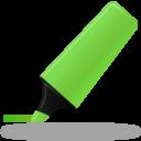 Иконка зеленый маркер