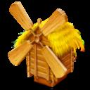 Иконка мельница - село, мельница, деревня
