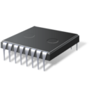 Иконка микросхема - чип, микросхема