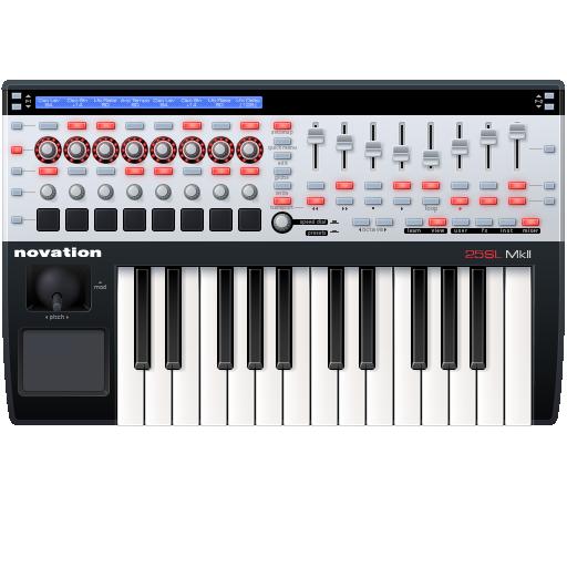 Иконка Midi клавиатура - музыкальные инструменты, музыка, клавиатура, midi