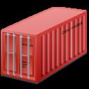 Иконка морской контейнер