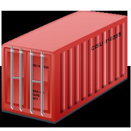 Иконка морской контейнер - контейнер, грузоперевозки