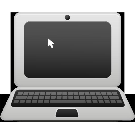 Иконка ноутбук - ноутбук, компьютер