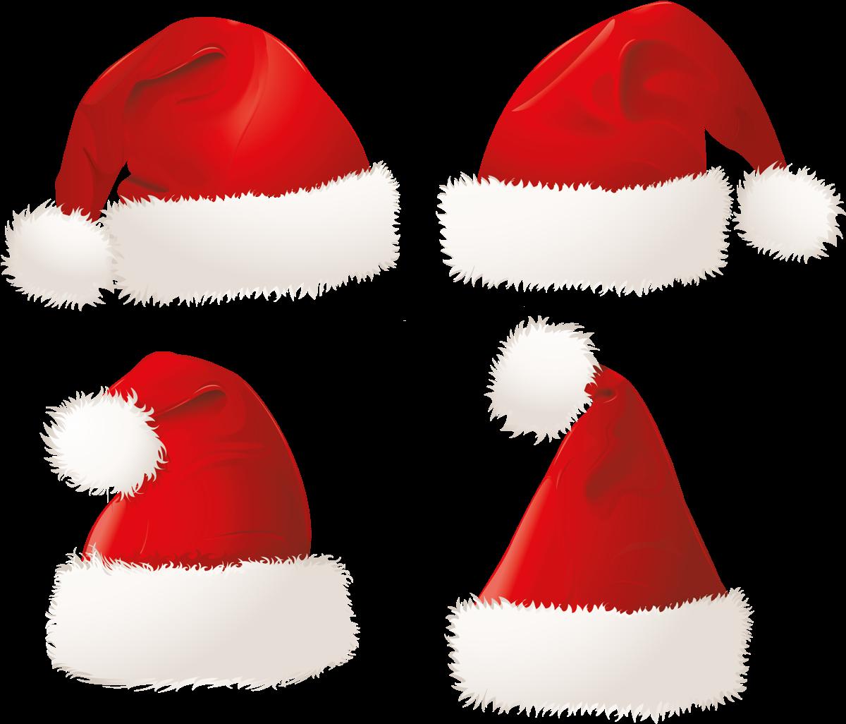 Новогодние шапки - шапка, праздники, новый год