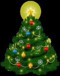 Новогодняя ёлка - праздники, новый год