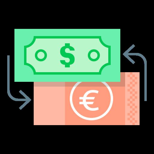 Иконка обмен валют